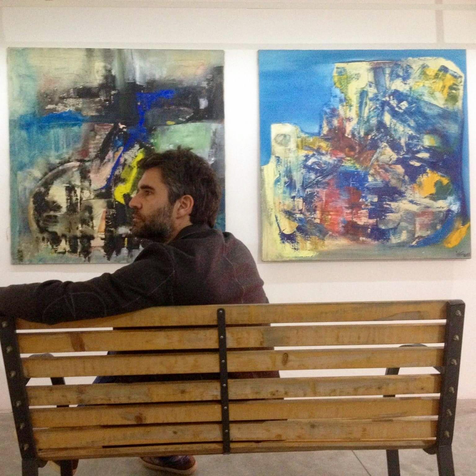 Art critic David Miliozzi