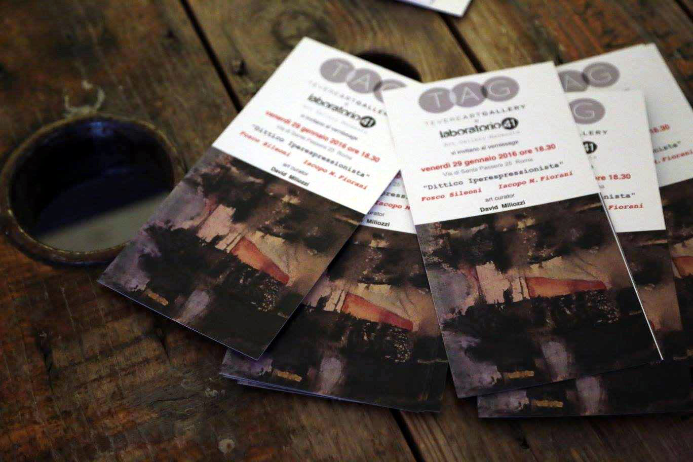 Tevere Art Gallery - Flyers