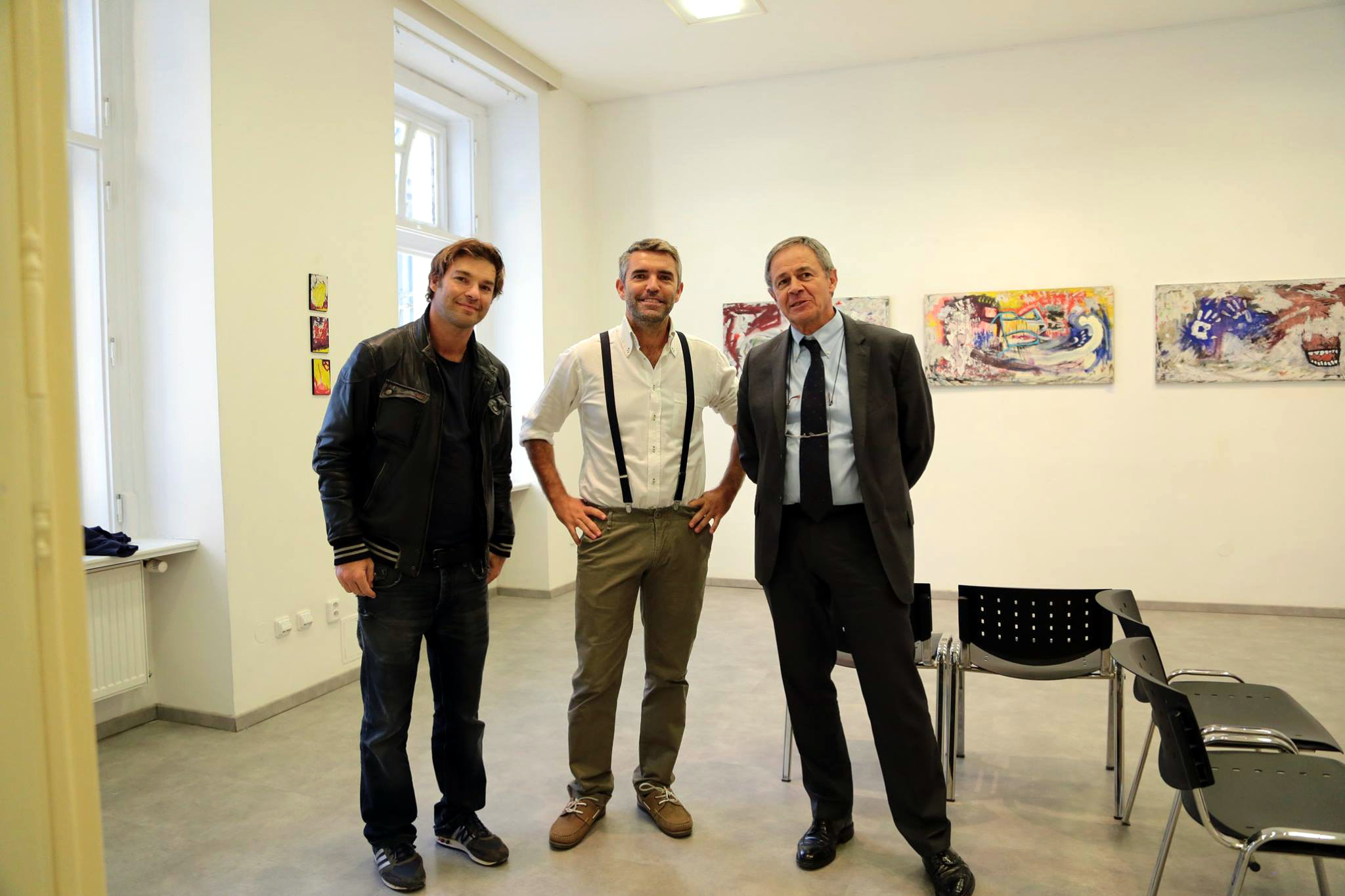 Hyperexpressionism in Prague – Topičův salon - Iacopo Maria Fiorani, David Miliozzi and Giovanni Sciola